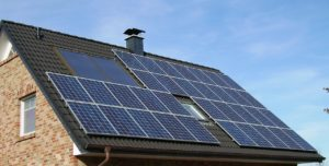 Solar Panels on Home for Sale New York