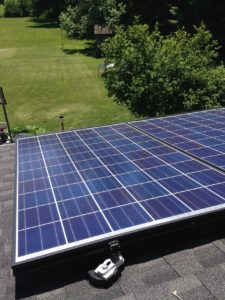 Solar Panels on Home for Sale in New York